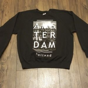Amsterdam Holland pullover sweater large